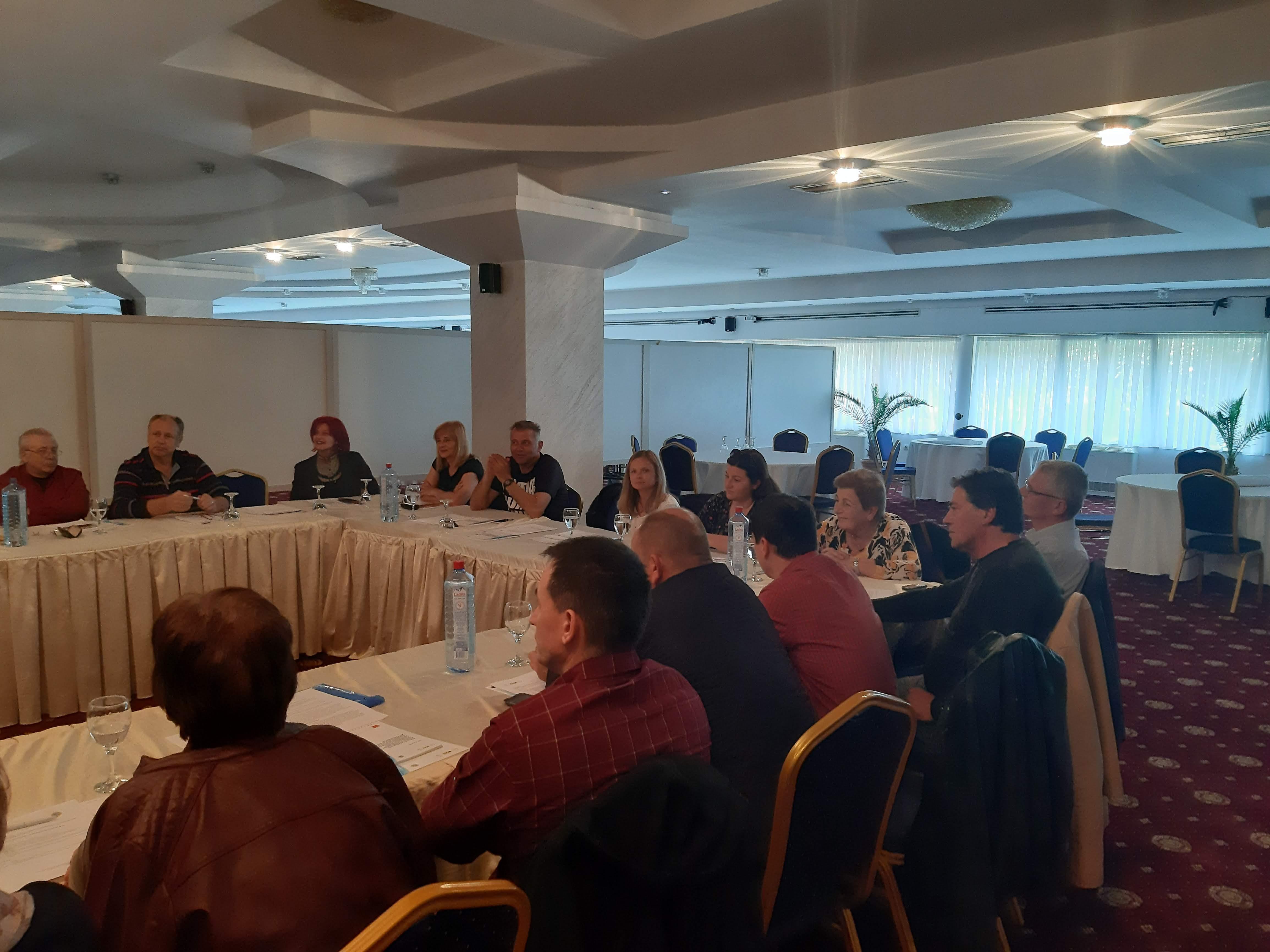 Семинар за зајакнување на капацитетите и внатрешното управување за спроведување на активностите за БЗР- СГИП