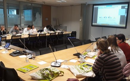 Студиска посета во Европска агенција за безбедност и здравје при работа